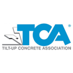 Tilt-up concrete association logo