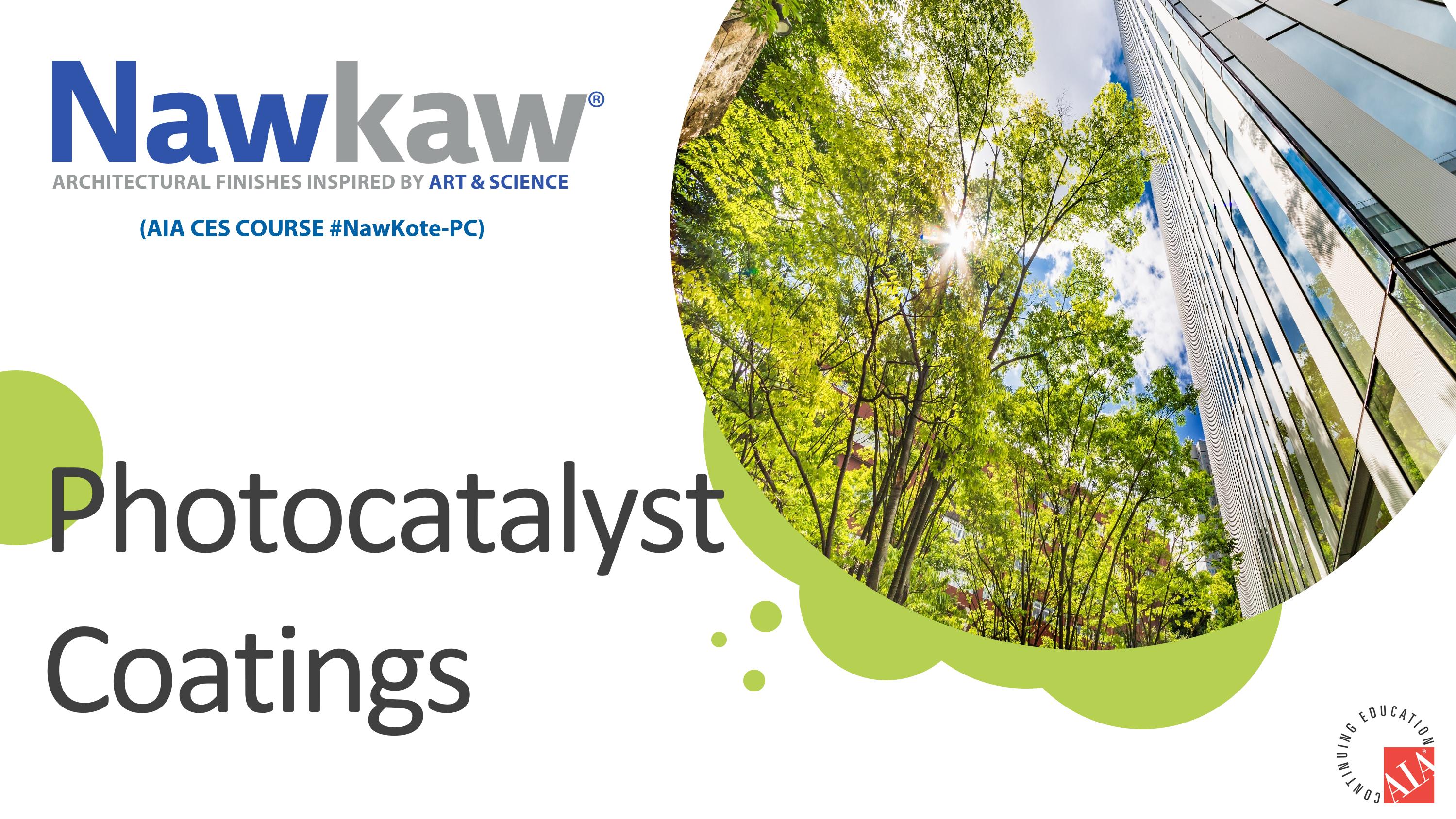 Photocatalyst Coatings Presentation Cover