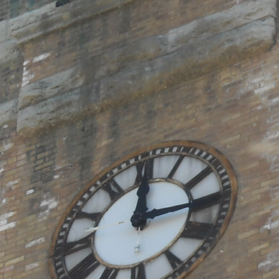 Neenah Clock Tower Before Slide 1