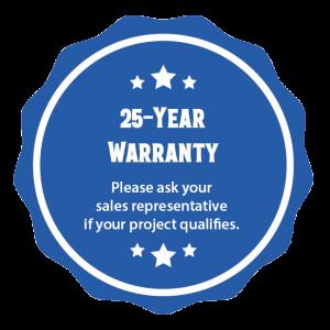 25 Year Warranty Nawkaw