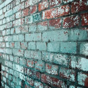 Failed Paint on Brick